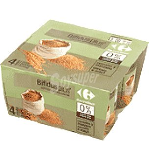 Carrefour Bifidus Plus Cereales 0% Pack de 4x125 g