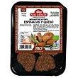 Bocaditos de tofu-espincacas Bandeja 150 g Natursoy