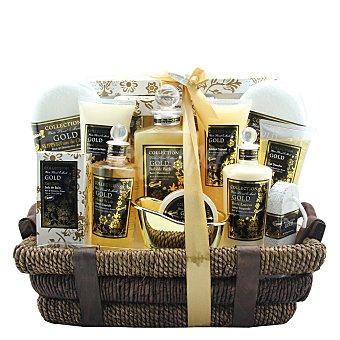 Gloss Cesta de baño Premium Gold Luxe 1 ud