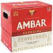 Cerveza especial Pack 12x25 cl Ambar