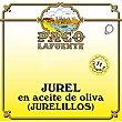 Jurel en aceite de oliva (jurelillos) Lata 84 g neto escurrido Paco lafuente