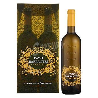 PAZO BARRANTES Estuche vino D.O. Rias Baixas blanco albariño Pack 2x75 cl