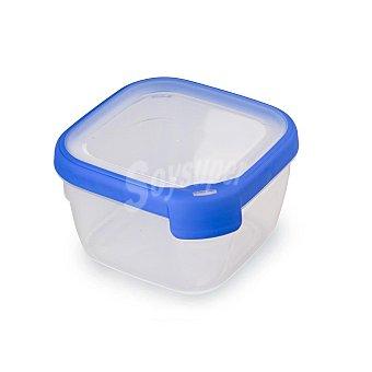 CURVER Grand Chef Hermetico Cuadrado de Plástico - Transparente 1,2 l.