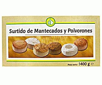 Productos Económicos Alcampo Surtido de Mantecados Y Polvorones 1400g