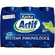 Yogur líquido natural Pack 6 unds. 65 ml Kaiku Actif