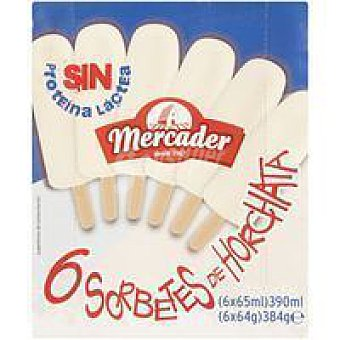 MERCADER Polo de horchata Pack 6x65 ml