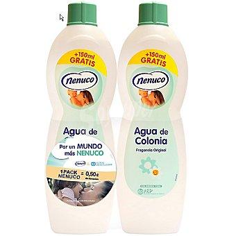 Nenuco Agua de colonia fragancia original Pack 2 botella 625 ml