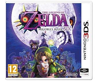 AVENTURA Zelda Majora's Mask 3Ds