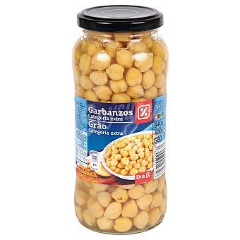 DIA Garbanzos cocidos extra Frasco 400 gr