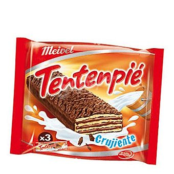 Meivel Tenten pie choco Pack de 3x33 g