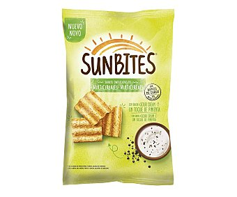 Sunbites Snacks ondulados multicereales Sour Cream 95 gr