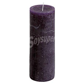 Spaas Vela Rústica en color púrpura 1 unidad