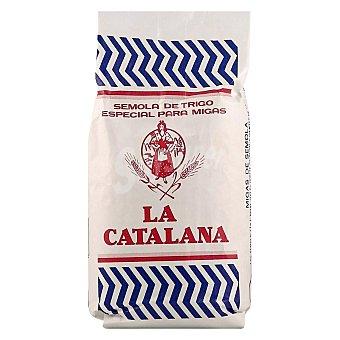 La Catalana Sémola de trigo especial para migas Paquete 1 kg