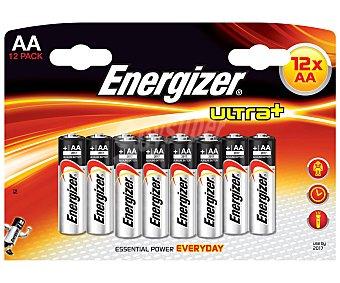 Energizer Pilas alcalina Ultra+ AA LR6 1,5V 12 unidades