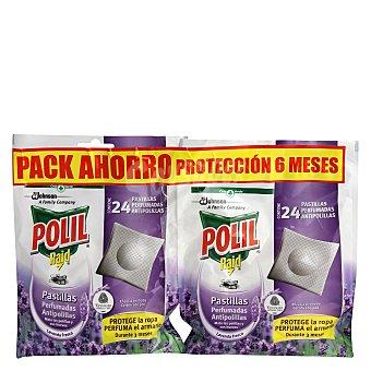 Pastillas antipolillas perfumadas lavanda 24 uds