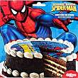 Disco de azúcar 16 cm Sobre 25 g Spiderman Marvel