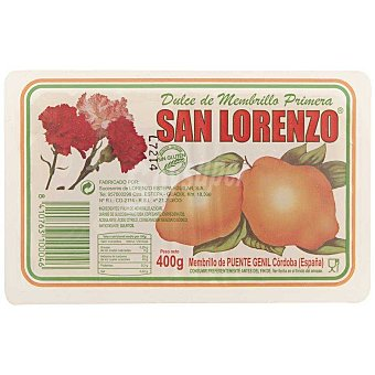 San Lorenzo Tarrina dulce de membrillo 400 g