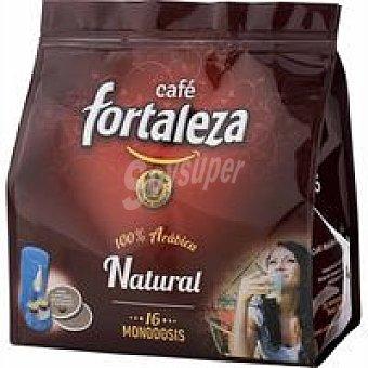 Fortaleza Café monodosis natural 16 ud