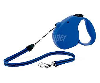 Flexi Correa para perro de cordón azul 3 metros Talla- XS