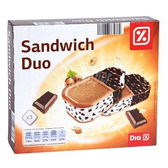 DIA helado maxi dúo pack 3 uds