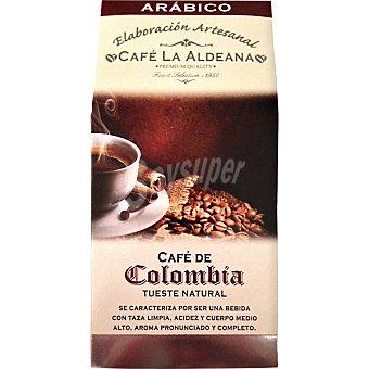 La aldeana Café natural molido arábico Colombia elaboración artesanal paquete 250 g paquete 250 g