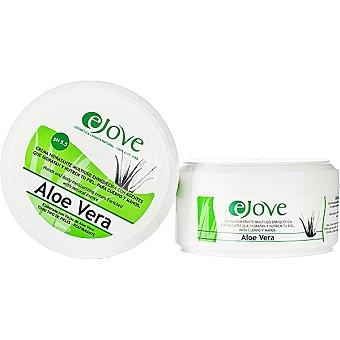 EJOVE Crema corporal 100% Aloe Vera enriquecida con agentes que hidratan y nutren la piel tarro 200 ml para cuerpo y manos y para todo tipo de piel Tarro 200 ml