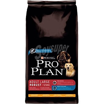 Pro Plan Purina Alimento especial para perros de más de 25 kg con grasa corporal con pollo y arroz Adult Large Robust bolsa 14 kg