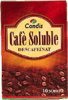 Condis CAFE SOL.DESCAF.SOB 10 UNI