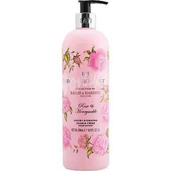 BAYLIS & HARDING Royale Bouquet gel de ducha Rosa y Madreselva cremoso dosificador  500 ml