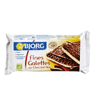 Bjorg Galletas arroz choco negro 90 g