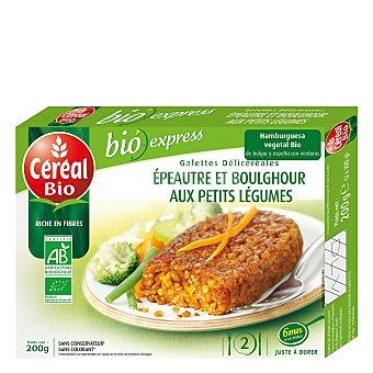Cereal Bio Hamburguesa vegetal Bio de bulur y espelta con verduras 200 Gramos