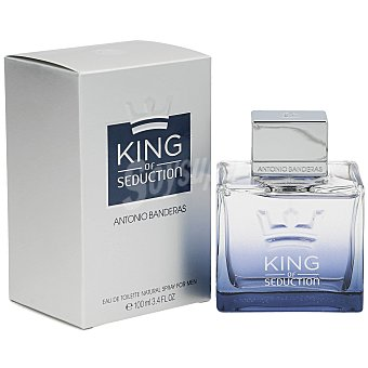 Antonio Banderas Colonia de caballero con vaporizador king of seduction  Frasco 100 ml