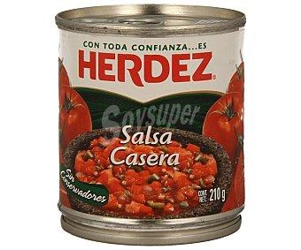 HERDEZ Salsa mexicana casera 210 gramos
