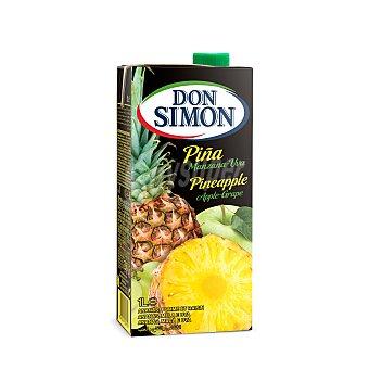 Don Simón Zumo de piña,manzana y uva Don Simón Brik 1 l