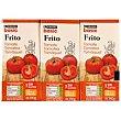 Tomate frito Pack 3x390 g Eroski Basic