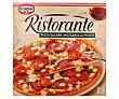 Pizza con salami mozzarella y pesto  estuche 360 g Ristorante Dr. Oetker