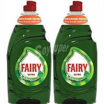 Fairy Lavavajillas mano Pack 2x850 ml