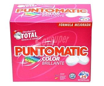 Puntomatic Detergente en pastillas, ropa color 1,5 Litros