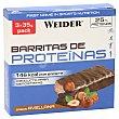 Barritas de proteínas sabor avellanas caja 3 uds caja 3 uds Weider