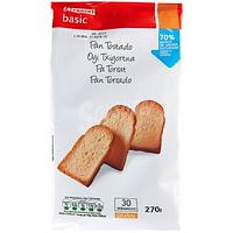 Eroski Basic Pan tostado Paquete 270 g