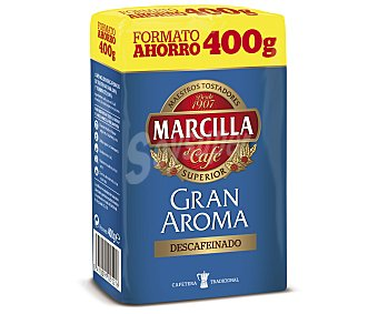 Marcilla Café molido descafeinado intenso 'gran Aroma' 400 g