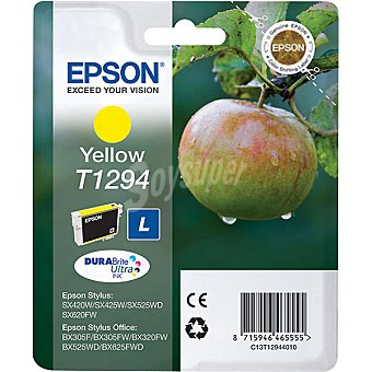 EPSON T1294 Cartucho de tinta color amarillo