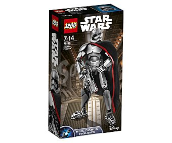 LEGO Figura para construir con 82 piezas Capitán Phasma, ref. 75118. 26 centímetros de altura, Star Wars episodio VII El despertar de la fuerza 1 unidad