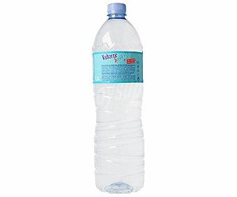 VALTORRE Bebida refrescante deportiva sabor limón Botella de 1,5 litros