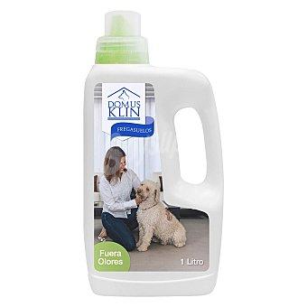 Domusklin Fregasuelos especial que elimina el olor a perro de dentro del hogar 1 litro