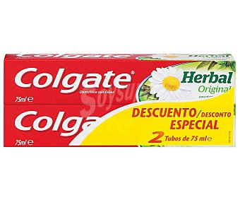 Colgate Dentífrico herbal Pack 2 x 75 ml