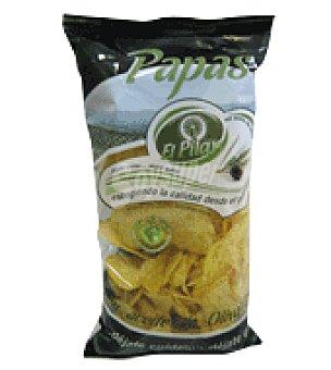 El Pilar Patatas fritas aceite de oliva 100% 1 Bolsa de 150 gr