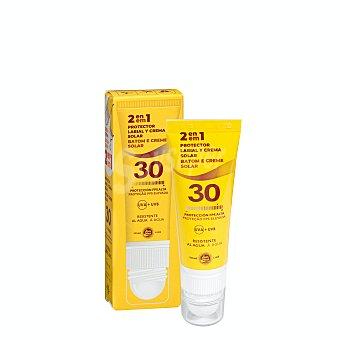 Sun Med Protector solar corporal y labial 2 en 1 fps 30 Tubo 25 ml