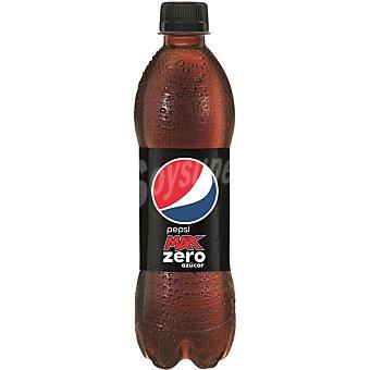 Pepsi Refresco de cola max zero azucares Botella de 1,5 l