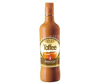 Arehucas Crema de Tofee elaborado en las Islas Canarias botella de 70 cl